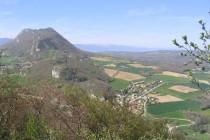 Extrémité SE du Vuache depuis le Mont de Musièges - Crédit photo : Dominique ERNST