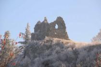 Ruines du château de Chaumont - Crédit photo : Fabrice Bovagne