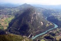 Le Vuache depuis le Grand Crêt d'Eau (Jura) - Crédit photo : Dominique Ernst