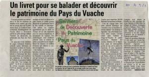 Patrimoine Pays du Vuache Le Messager 4 sept 2014