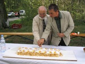 142 - Les elus du SIPCV coupent le gateau - DE