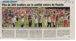 Le Dauphine Libere 13 juin 2016