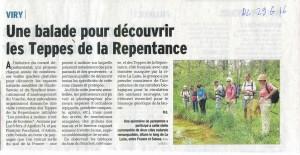 Le Dauphine Libere 26 juin 2016