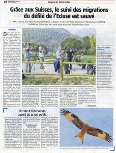 Suivi de la migration Le Messager 18 mai 2017